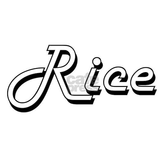 Rice surname classic design