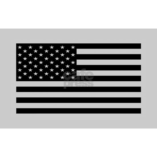 subdued flag sticker tactical 50_H_F