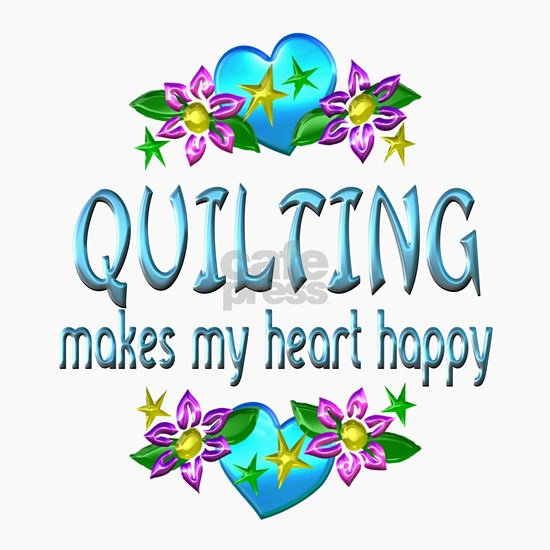 Quilting Heart Happy