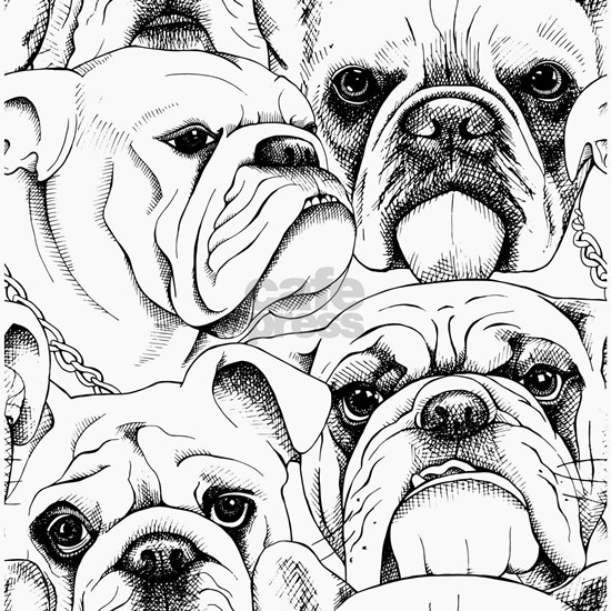 Bulldog Collage