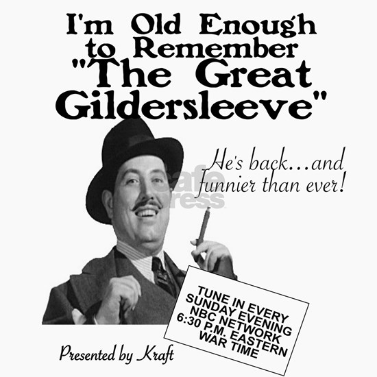 THE GREAT GILDERSLEEVE - OTR
