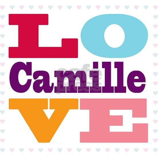 I Love Camille 16 oz Stainless Steel Travel Mug I Love ...