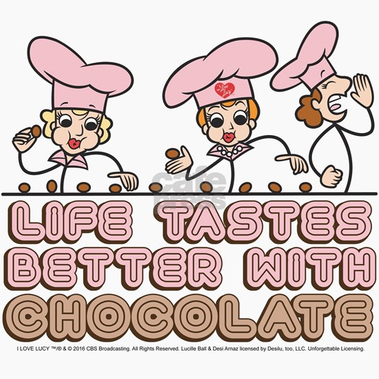 I Love Lucy: Life Tastes Better With Chocolate