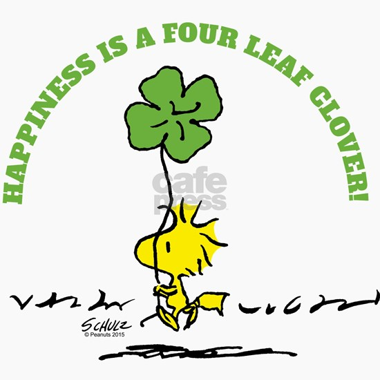 Happiness is a Four Leaf Clover