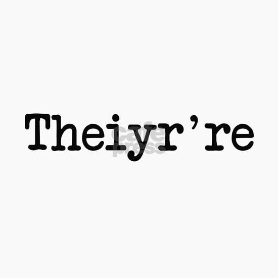 Theiyr're Their There They're Grammer Typo