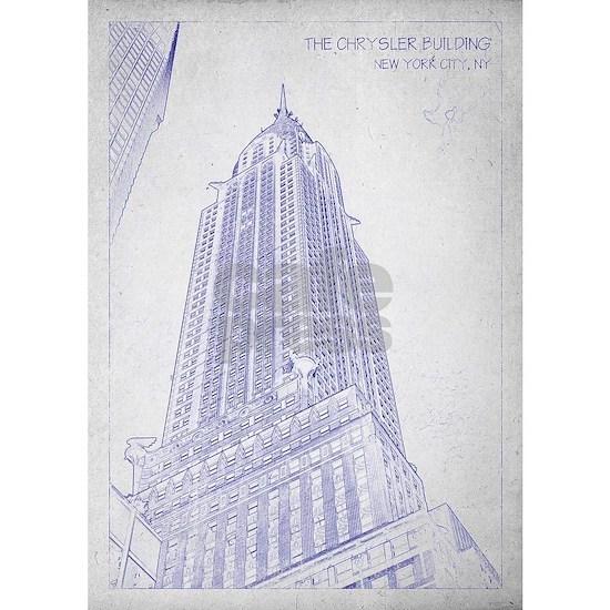 Chrysler building blueprint
