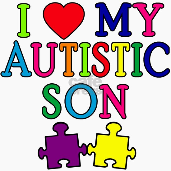 I heart my autistic son