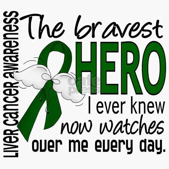 D Liver Cancer Bravest Hero I Ever Knew