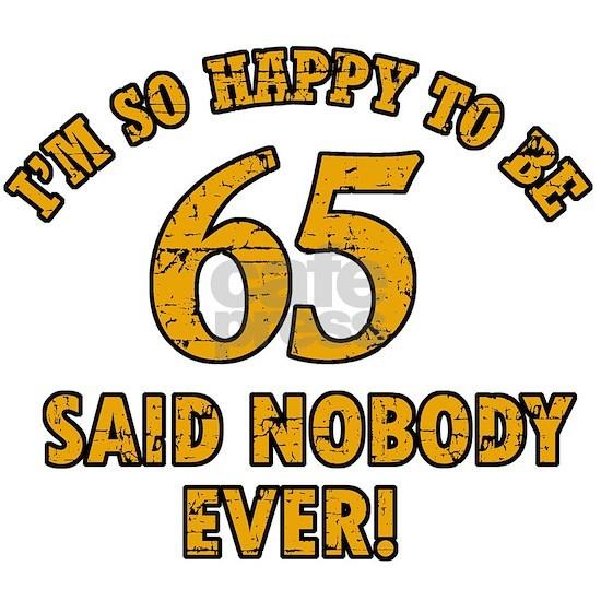 65 birthday design