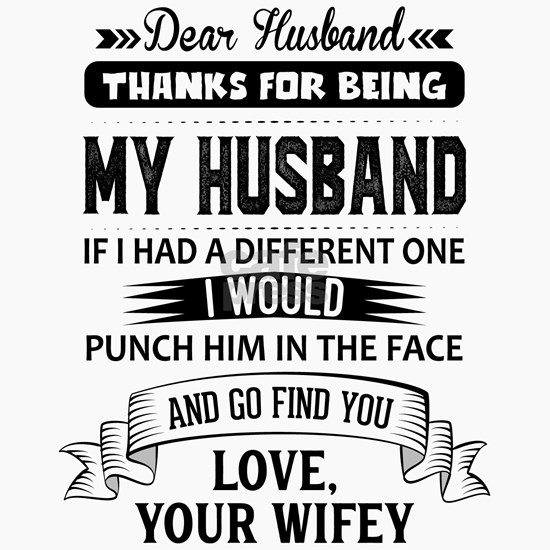 Dear Husband, Love, Your Favorite