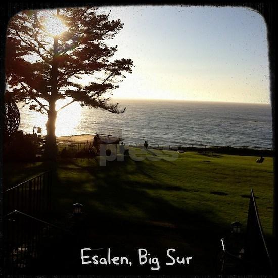Front lawn at Esalen, Big Sur