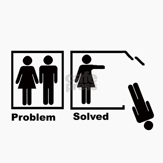 womans problem solved black