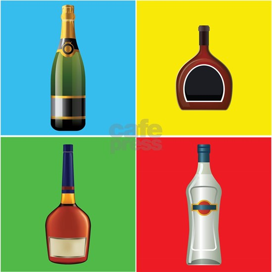 liquor pop art