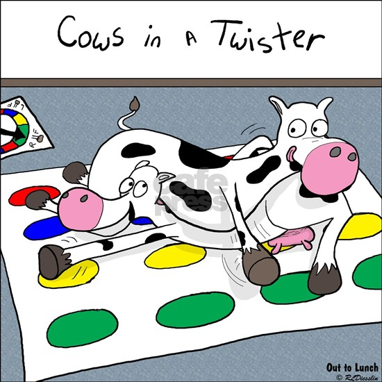 Cows in a Twister