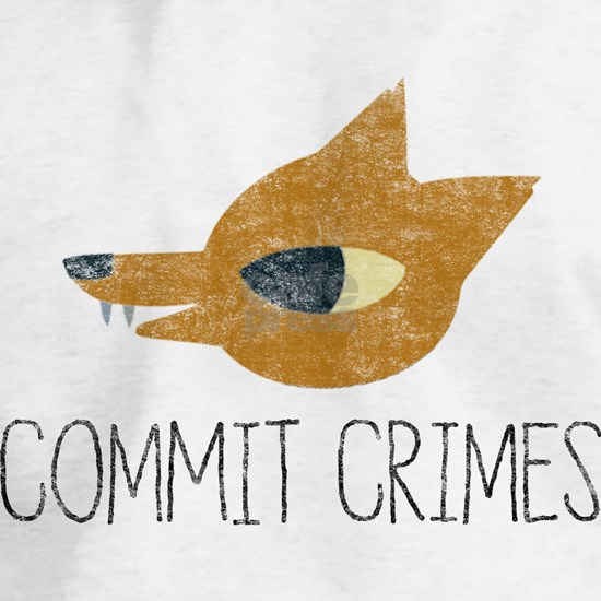 Night In The Woods - Commit Crimes - Black Dirty T
