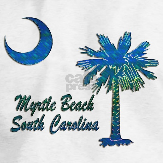 Myrtle Beach, South Carolina Blue and Green