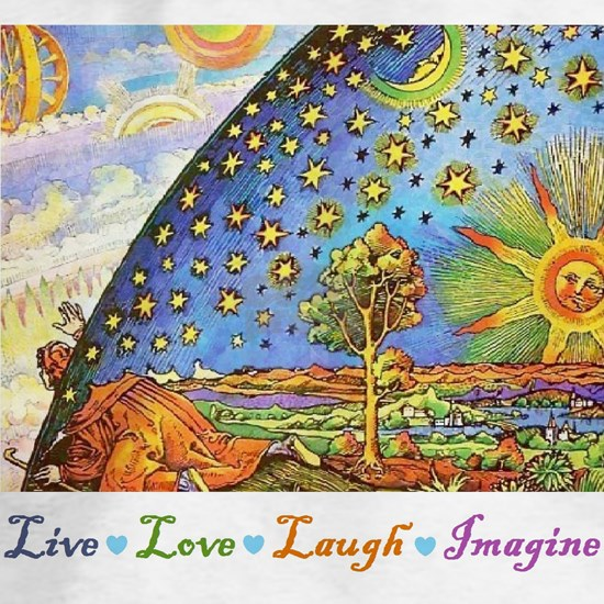 Live Love Laugh Imagine