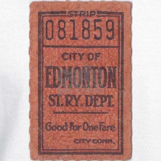Edmonton Streetcar Railway Ticket