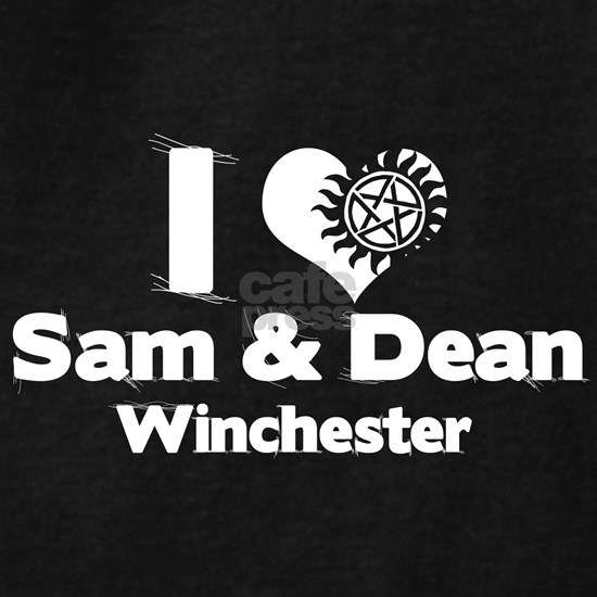 I Heart Sam Dean Hoodie (dark) I Heart Sam Dean Hoodie by ...