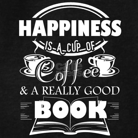 Reading Book and Drinking Coffee Tee Shirts