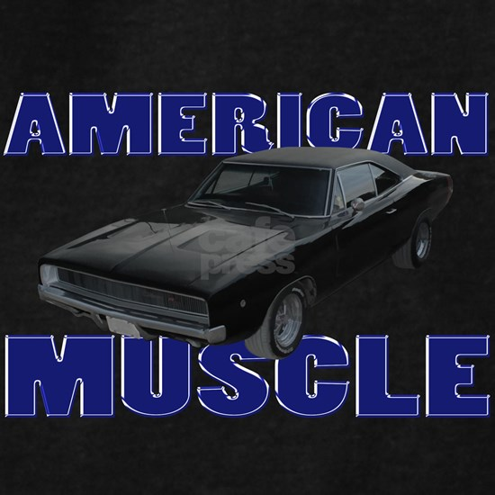 american muscle charger gray deep blue