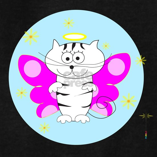 ITTY BITTY ANGEL KITTY (Pink Wings Sky Glow)