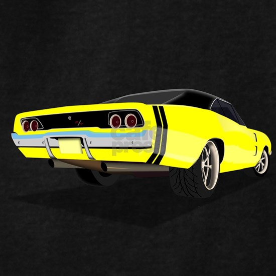 1968 Charger in Yellow with Black Top