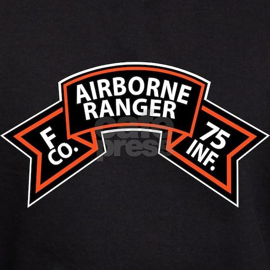 T-Shirt - SSI - F Co 75th Infantry (Ranger) Scrol