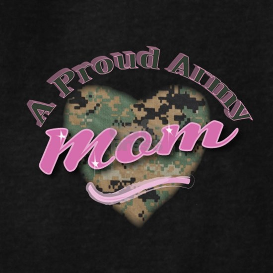 American camouflage heart pink U.S. Army mom patri