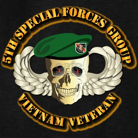 T-Shirt - SOF - 5th Special Forces Group - Skill