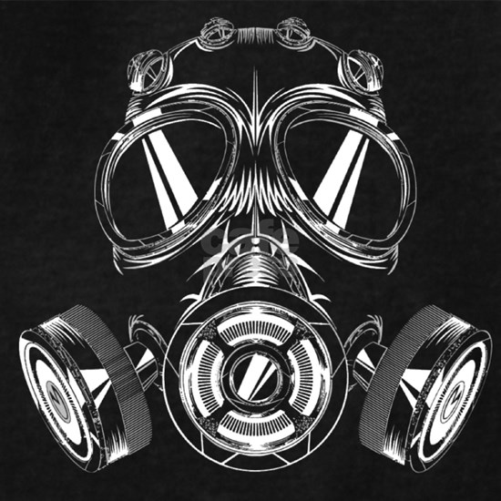 White Gas Mask Design
