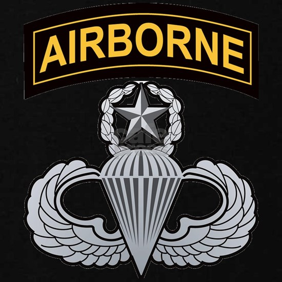 Master Airborne Wings with Airborne Tab