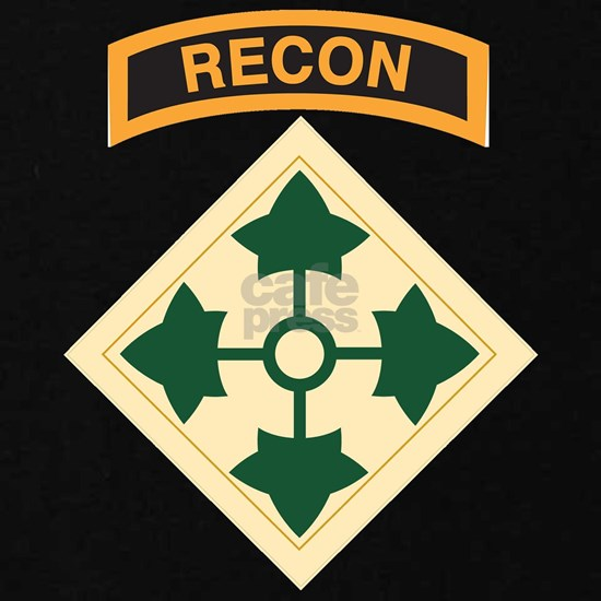 4th Infantry Division with Recon Tab
