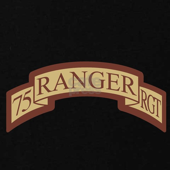 75th Ranger RGT Scroll Desert