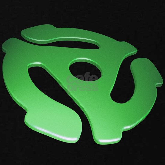 Green 3D 45 RPM Adapter