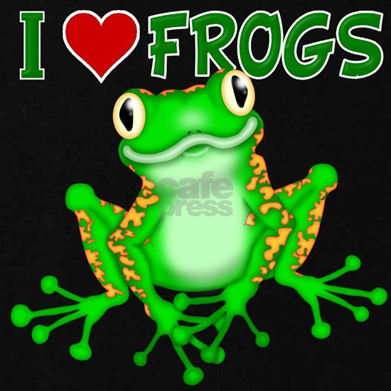 I  Love (Heart) Frogs