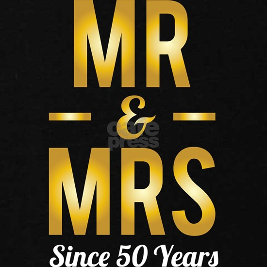 Wedding Anniversary Mr And Mrs Since 50 Years Gift