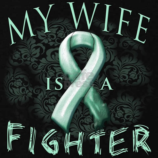 My Wife is a Fighter Teal