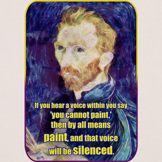 Vincent van Gogh - Art - Quote