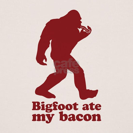 Bigfoot (Sasquatch) ate my bacon!