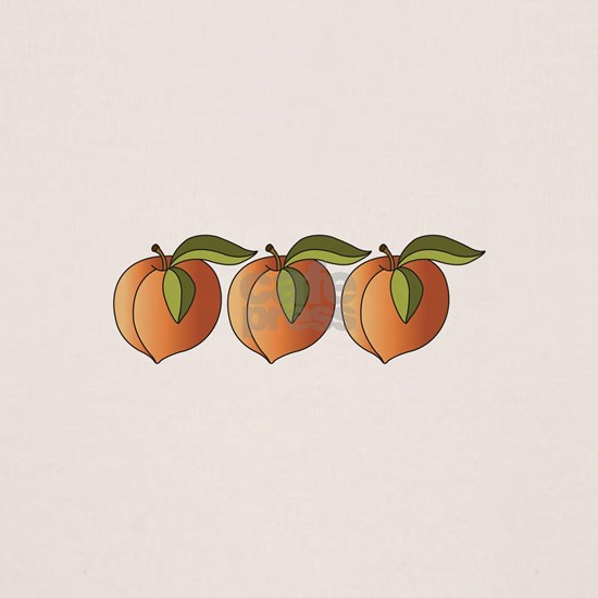 Row Of Peaches