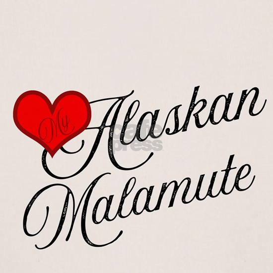 Alaskan Malamute Dog Heart