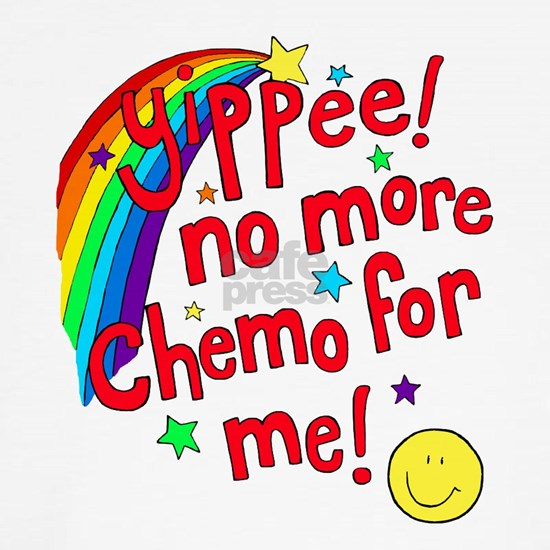 No more chemo - red