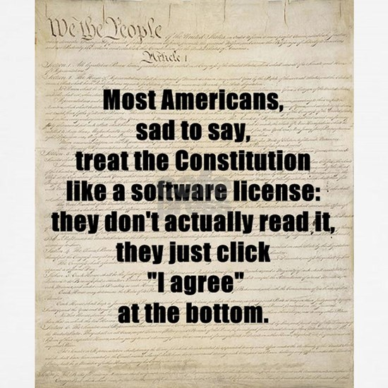 US Constitution Software License