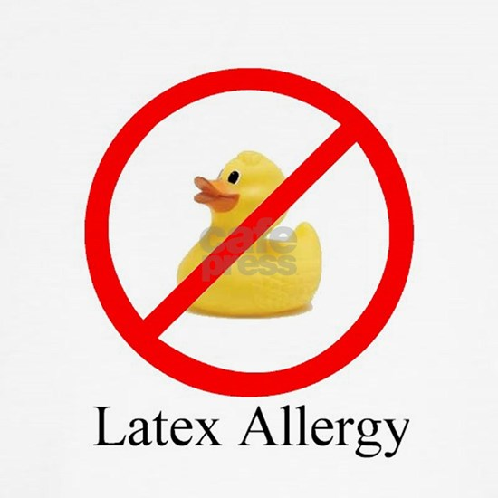 Latex Allergy Rubber Duck