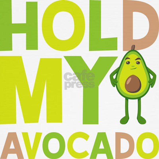 Emoji Hold My Avocado