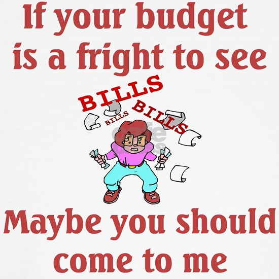 Budget is a fright