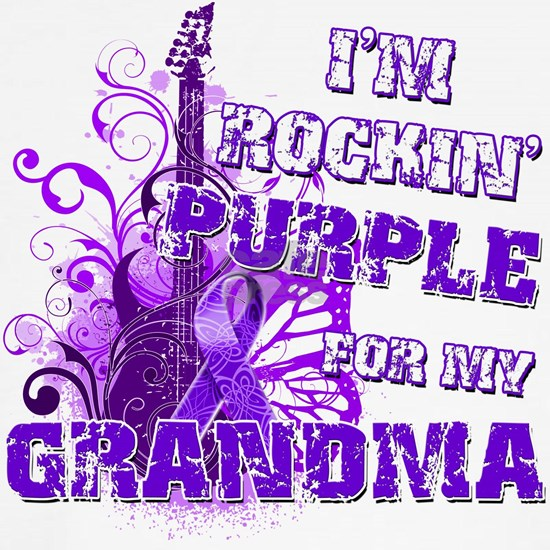 Im Rockin Purple for my Grandma