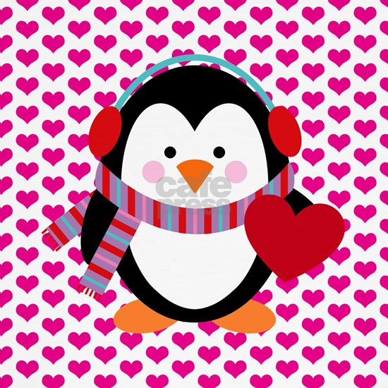 Valentines Day Penguin