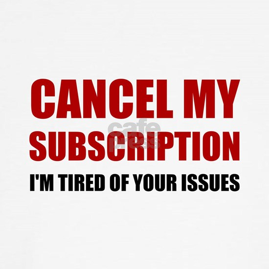 Cancel Subscription Issues
